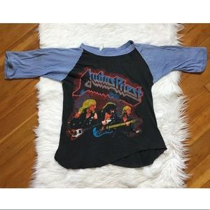 Judas Priest 1984 vintage double sided t shirt 🔥